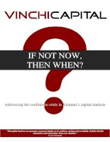 VinchyCapital if not now then when