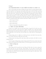 Chương 5 GIÁ TRỊ DINH DƯỠNG và đặc điểm vệ SINH của THỨC ăn