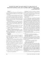 NGHIÊN cứu điều TRỊ CHỬA NGOÀI tử CUNG CHƯA vỡ BẰNG METHOTREXAT đơn LIỀU tại BỆNH VIỆN PHỤ sản hà nội