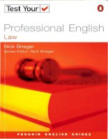 2 test your professional english   law