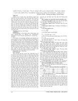 KIẾN THỨC, THÁI độ, THỰC HÀNH về lựa CHỌN GIỚI TÍNH KHI SINH của các sản PHỤ tại BỆNH VIỆN PHỤ sản hải PHÒNG   năm 2012