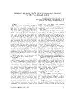 ĐÁNH GIÁ sử DỤNG THUỐC điều TRỊ rối LOẠN LIPID máu tại VIỆN y học HÀNG KHÔNG