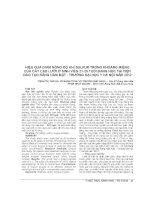 HIỆU QUẢ GIẢM NỒNG độ KHÍ SULFUR TRONG KHOANG MIỆNG của cây cạo lưỡi ở SINH VIÊN 21 26 TUỔI ĐANG học tại VIỆN đào tạo RĂNG hàm mặt   TRƯỜNG đại học y hà nội năm 2012