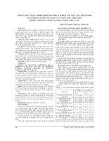 KHẢO sát THỰC HÀNH DINH DƯỠNG và một số yếu tố LIÊN QUAN của BỆNH NHÂN xơ GAN tại KHOA nội TIÊU hóa BỆNH VIỆN đa KHOA TRUNG ƯƠNG cần THƠ