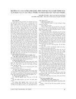 NGHIÊN cứu đặc điểm lâm SÀNG, HÌNH ẢNH nội SOI và mô BỆNH học của BỆNH POLYP đại TRỰC TRÀNG tại bện VIỆN VIỆT TIỆP hải PHÒNG