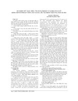 SO SÁNH kết QUẢ điều TRỊ CHỬA NGOÀI tử CUNG CHƯA vỡ BẰNG METHOTREXAT đơn LIỀU và đa LIỀU tại BỆNH VIỆN PHỤ sản hà nội