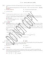Tuyển tập 200 câu điện xoay chiều từ cơ bản đến khó có giải chi tiết_luyện thi đại học