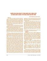 NGHIÊN cứu mô HÌNH BỆNH tật ở BỆNH NHÂN TRÊN dưới 60 TUỔI tại PHÒNG KHÁM và QUẢN lý sức KHỎE cán bộ TỈNH BÌNH PHƯỚC