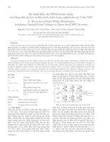 Kỹ thuật điều chế PWM ba bậc nhằm cân bằng điện áp hai tụ điện một chiều trong nghịch lưu áp 3 bậc NPC