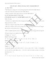 Các chuyên đề bồi dưỡng môn toán lớp 8 dành cho học sinh khá giỏi