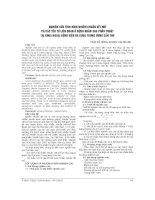 NGHIÊN cứu TÌNH HÌNH NHIỄM KHUẨN vết mổ và các yếu tố LIÊN QUAN ở BỆNH NHÂN SAU PHẪU THUẬT tại KHOA NGOẠI BỆNH VIỆN đa KHOA TRUNG ƯƠNG cần THƠ