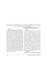 KIẾN THỨC, THÁI độ và THỰC HÀNH tư vấn xét NGHIỆM HIV tự NGUYỆN TRONG PHÒNG lây TRUYỀN mẹ CON ở PHỤ nữ MANG THAI tại THÀNH PHỐ vị THANH, hậu GIANG, năm 2011