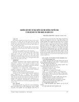 NGHIÊN cứu một số đặc điểm của hội CHỨNG CHUYỂN hóa ở cán bộ hưu TRÍ TỈNH NGHỆ AN năm 2012