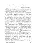 TÌM HIỂU một số đặc điểm lâm SÀNG và cận lâm SÀNG của hội CHỨNG THẬN hư DO VIÊM cầu THẬN LUPUS
