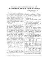 TÁC DỤNG KHÔNG MONG MUỐN TRÊN cận lâm SÀNG của bài THUỐC  TIỀM LIỆT LINH PHƯƠNG GIẢ    TRONG điều TRỊ PHÌ đại LÀNH TĨNH TUYẾN TIỀN LIỆT