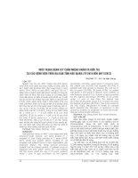 THỰC TRẠNG BỆNH TAY CHÂN MIỆNG KHÁM và điều TRỊ tại các BỆNH VIỆN TRÊN địa bàn TỈNH hậu GIANG (từ 2010 đến QUÝ i 2013)