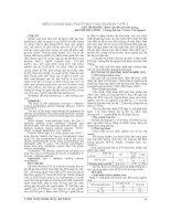 BIẾN CHỨNG mạn TÍNH ở đái THÁO ĐƯỜNG TYPE 1