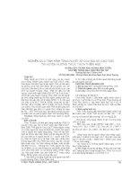 NGHIÊN cứu TÌNH HÌNH TĂNG HUYẾT áp của NGƯỜI CAO TUỔI tại HUYỆN HƯƠNG THỦY, THỪA THIÊN HUẾ