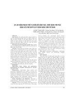 ÁP lực ĐỘNG MẠCH PHỔI và BIẾN đổi HÌNH THÁI, CHỨC NĂNG TIM PHẢI BẰNG SIÊU âm DOPPLER ở BỆNH NHÂN tâm PHẾ mạn