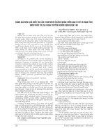 ĐÁNH GIÁ HIỆU QUẢ điều TRỊ của TENOFOVIR ở BỆNH NHÂN VIÊM GAN VI rút b mạn TÍNH được điều TRỊ tại KHOA TRUYỀN NHIỄM BỆNH VIỆN 103