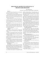ĐÁNH GIÁ HIỆU QUẢ làm GIẢM THỂ TÍCH TUYẾN GIÁP của i 131 TRONG điều TRỊ BỆNH NHÂN BASEDOW