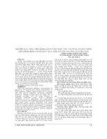 NGHIÊN cứu mối LIÊN QUAN GIỮA HÌNH ẢNH tổn THƯƠNG và đặc điểm lâm SÀNG BỆNH NHÂN đột QUỴ não có hội CHỨNG CHUYỂN hóa