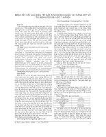 NHẬN xét kết QUẢ điều TRỊ gãy XƯƠNG bàn NGÓN TAY BẰNG nẹp vít tại BỆNH VIỆN đại học y hà nội