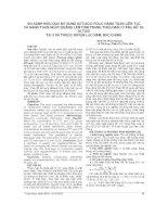 SO SÁNH HIỆU QUẢ bổ SUNG SẮTACID FOLIC HÀNG TUẦN LIÊN tục và HÀNG TUẦN NGẮT QUÃNG lên TÌNH TRẠNG THIẾU máu ở PHỤ nữ 20 35 TUỔI tại 3 xã THUỘC HUYỆN lục NAM, bắc GIANG