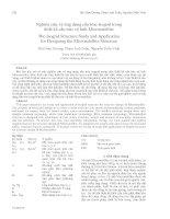 Proceedings VCM 2012 111 nghiên cứu và ứng dụng cấu trúc isogrid trong