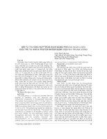 MÔ tả TRƯỜNG hợp TRÀN DỊCH MÀNG PHỔI DO GIUN lươn điều TRỊ tại KHOA TRUYỀN NHIỄM BỆNH VIỆN NHI TRUNG ƯƠNG