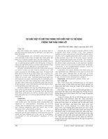 SỰ KHÁC BIỆT về GIỚI TÍNH TRONG TUỔI KHỞI PHÁT và THỂ BỆNH ở BỆNH tâm THẦN PHÂN LIỆT