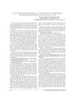 THỰC TRẠNG sử DỤNG DỊCH vụ y tế của một số NHÓM dân cư và các rào cản TRONG TIẾP cận DỊCH vụ y tế