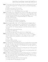 Toán 9 một số bài hình ôn luyện THPT có đáp án