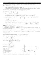 khảo sát hàm số và các dạng trong đề thi THPT quốc gia