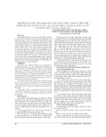 NGHIÊN cứu mối LIÊN QUAN GIỮA mức độ TRẦM TRỌNG TRÊN lâm SÀNG và các CHỈ số HUYẾT học TRONG BỆNH DENGUE XUẤT HUYẾT tại BỆNH VIỆN TRUNG ƯƠNG HUẾ