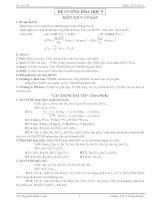 ĐỀ CƯƠNG và các DẠNG bài tập hóa học 9 HK 1