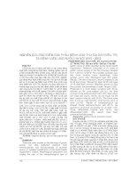NGHIÊN cứu đặc điểm GIẢI PHẪU BỆNH UNG THƯ dạ dày điều TRỊ tại BỆNH VIỆN UNG bướu hà nội 2010   2012