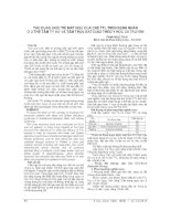 TÁC DỤNG điều TRỊ mát NGỦ của CHÈ TTL TRÊN BỆNH NHÂN ở 2 THỂ tâm tỳ hư và tâm THẬN bất GIAO THEO y học cổ TRUYỀN