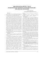 ĐÁNH GIÁ HIỆU QUẢ CAN THIỆP vật lý TRỊ LIỆU CHO BỆNH NHÂN ĐAU dây THÂN KINH tọa tại KHOA PHỤC hồi CHỨC NĂNG   BỆNH VIỆN đa KHOA TỈNH hải DƯƠNG