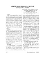 CẬN THỊ ở học SINH KHỐI TRUNG học cơ sở tại TỈNH hà NAM THỰC TRẠNG và yếu tố ẢNH HƯỞNG