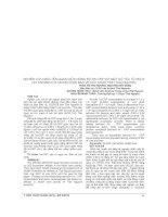 NGHIÊN cứu mối LIÊN QUAN GIỮA NỒNG độ HS CRP với một số yếu tố NGUY cơ TIM MẠCH ở cán bộ DIỆN bảo vệ sức KHỎE TỈNH THÁI NGUYÊN