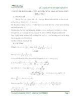 Phương pháp dồn biến trong chứng minh bất đẳng thức bậc THCS