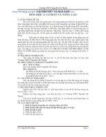 Đề tài lý thuyết và bài tập hóa học 11 cơ bản và nâng cao