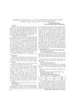 NGHIÊN cứu BIẾN đổi lưu LƯỢNG DÒNG máu ĐỘNG MẠCH THẬN ở BỆNH NHÂN TĂNG HUYẾT áp NGUYÊN PHÁT