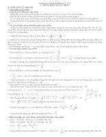 bài tập chuyên đề điện xoay chiều có giải chi tiết luyện thi đại học