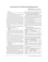 GIÁ TRỊ của CHỤP cắt lớp VI TÍNH 64 dãy TRONG CHẨN đoán u đầu tụy