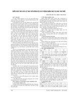 BƯỚC đầu THEO dõi sự THAY đổi NỒNG độ CEA ở BỆNH NHÂN HOÁ TRỊ UNG THƯ PHỔI