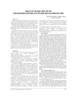 ĐÁNH GIÁ kết QUẢ ĐÓNG THÔNG LIÊN THẤT PHẦN QUANH MÀNG BẰNG DỤNG cụ bít ỐNG ĐỘNG MẠCH QUA ĐƯỜNG ỐNG THÔNG