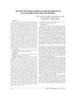 THỰC TRẠNG TIẾP cận DỊCH vụ CHĂM sóc sức KHỎE của NGƯỜI CAO TUỔI tại xã lâu THƯỢNG, HUYỆN võ NHAI, TỈNH THÁI NGUYÊN