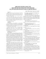 ĐÁNH GIÁ kết QUẢ điều TRỊ THOÁT vị bẹn BẰNG PHẪU THUẬT nội SOI SINGLEPOTE XUYÊN THÀNH BỤNG đặt lưới PROLEN NGOÀI PHÚC mạc tại KHOA b15 BỆNH VIỆN tưqđ 108